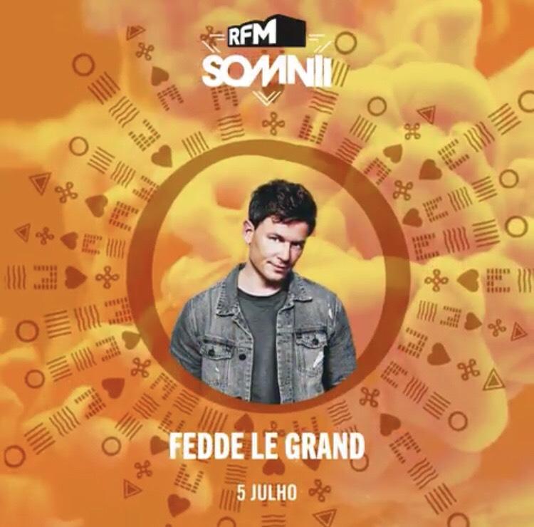 Fedde Le Grand entre las nuevas confirmaciones de RFM Somnii