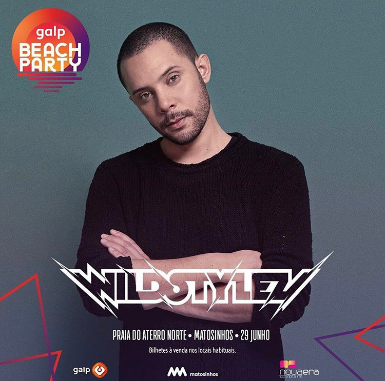 Wildstylez confirmado en el Galp Beach Party 2019