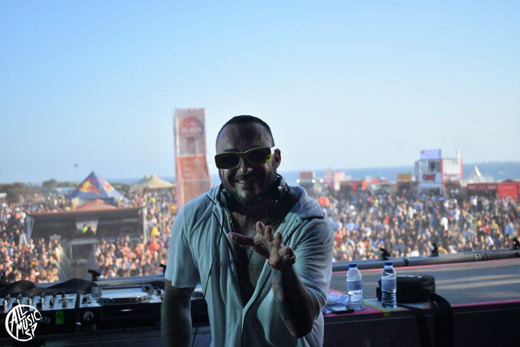 DJ Nano en Galp Beach Party 2019