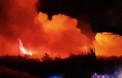 Incendio Croacia