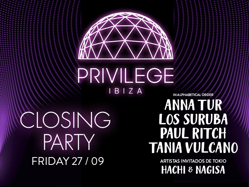 Privilege closing IBIZA GLOBAL RADIO 800X600PX