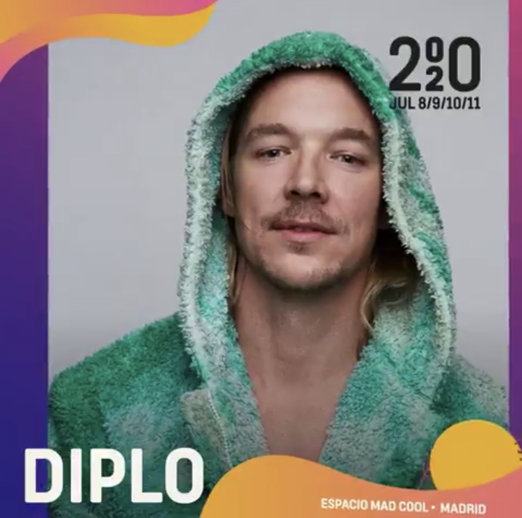 Diplo confirmado para el Mad Cool 2020