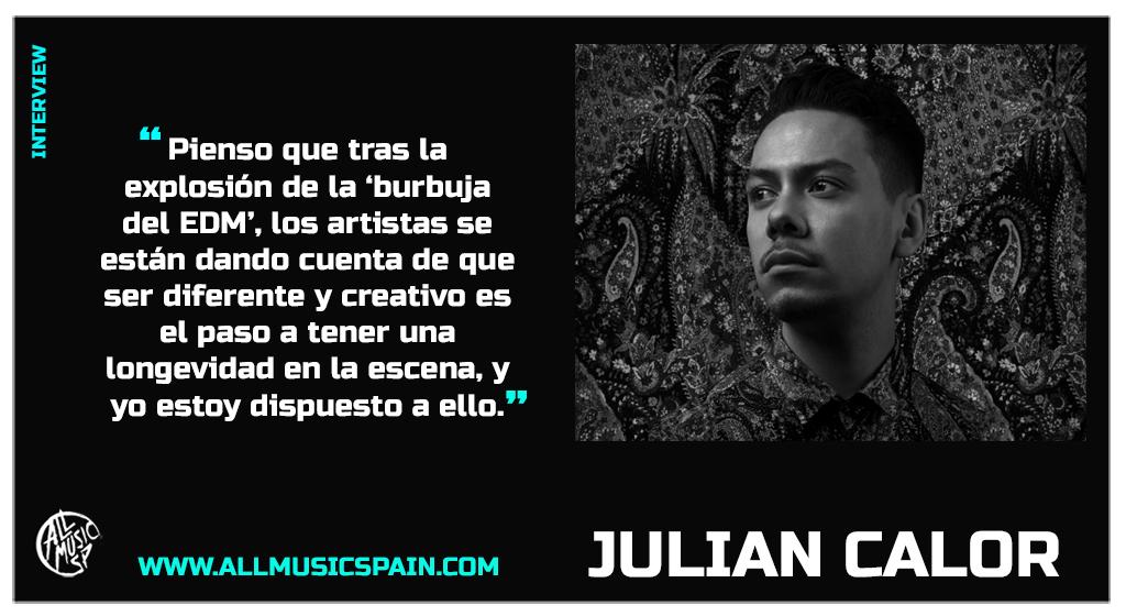 Julian Calor entrevista