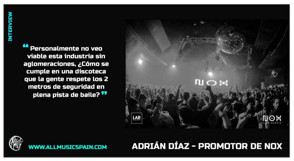 Adrian diaz Nox entrevista web