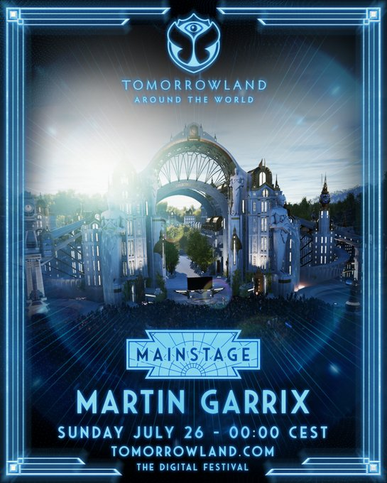 Martin Garrix en Tomorrowland 2020