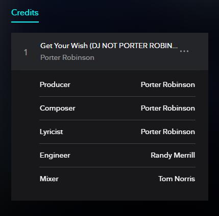 DJ NOT PORTER ROBINSON