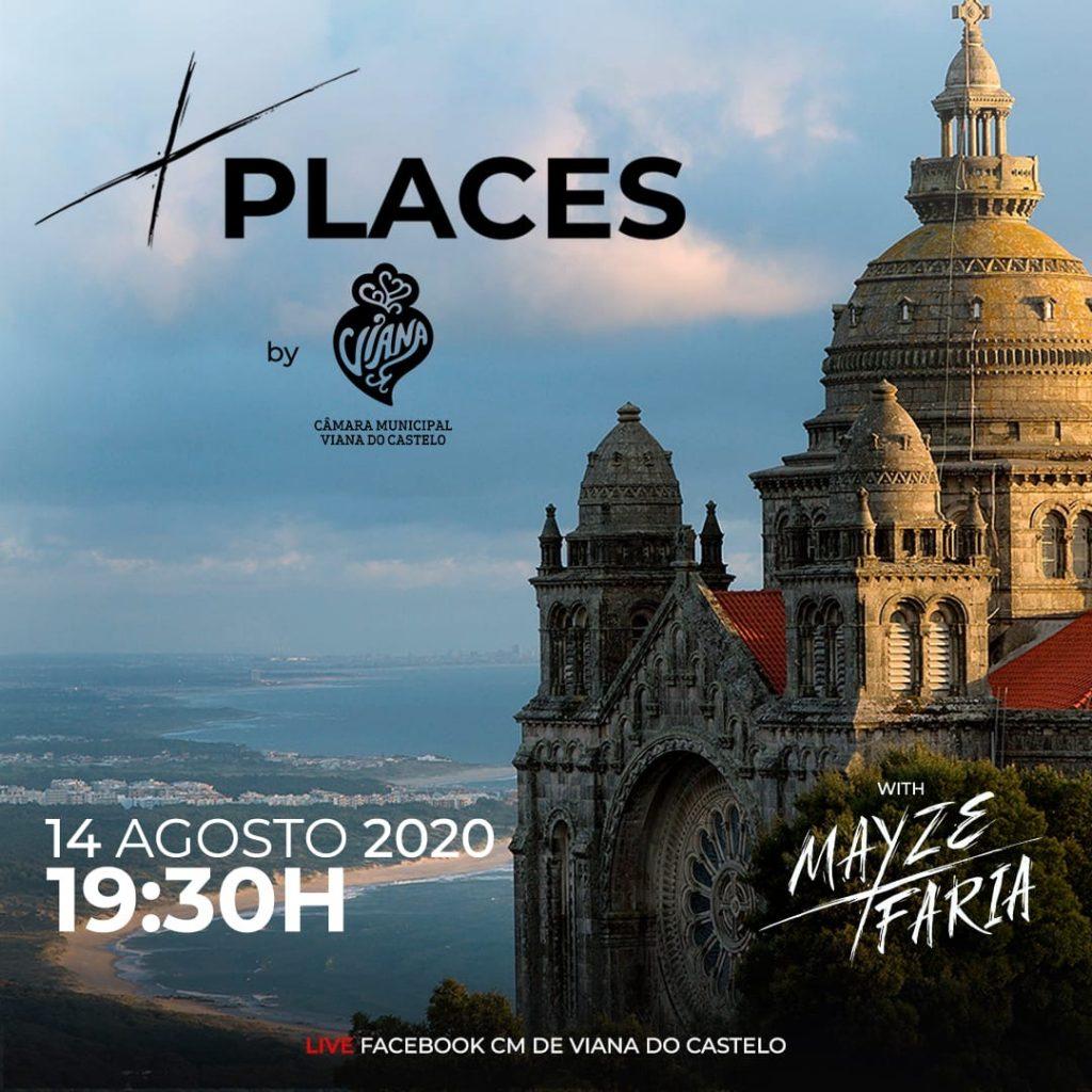 Cartel de la nueva edición de X Places con Mayze X Faria