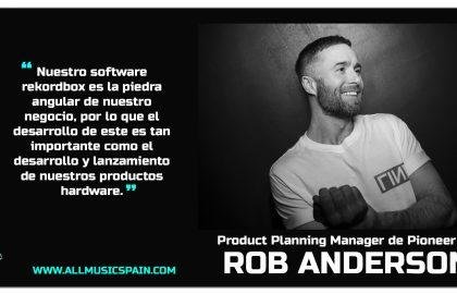 Rob Anderson entrevista Web Español