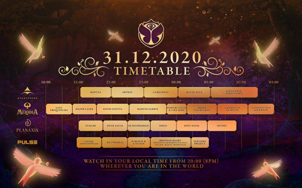 Tomorrowland 31.12.2020
